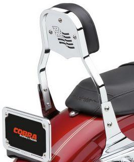 Cobra Steel Insert Flag Short Mini Bar Harley XL1200R Roadster 2004