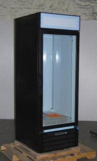 Beverage Air 23 Cubic ft Commercial Merchandiser Refrigerator LV23 1 B