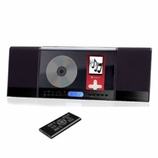 Supersonic Micro Shelf Stereo CD Player System iPod New
