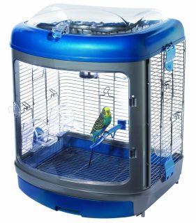 Pet Habitat Defined Bird Enrichment Home with Activity Center