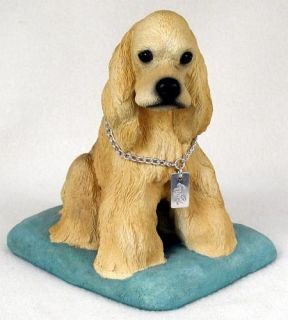 Cocker Spaniel Statue Figurine Home & Garden Decor. Dog Products & Dog