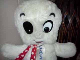 Vintage Casper The Ghost Harvey Commonwealth Toy NY Stuffed Plush 18
