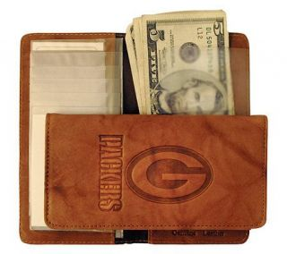 NFL Green Bay Packers Embossed Checkbook Cover —