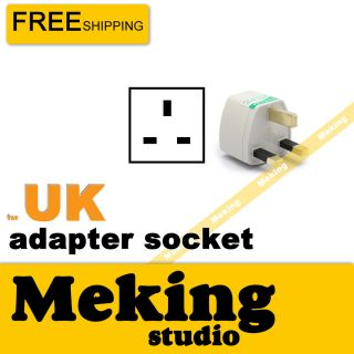 Socket Adapter Travel Adapters Plus Converters for UK