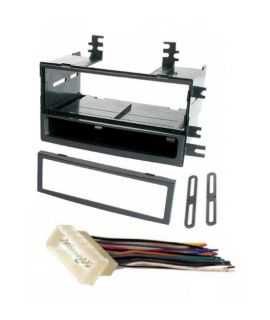complete single din dash kit