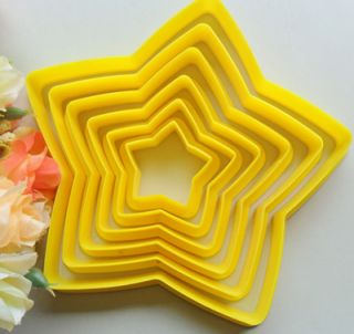 Stars Cookie Mold Cutting Mold Baking Tools Fondant Cake Mold