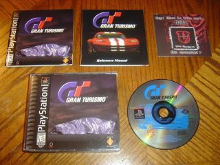 Gran Turismo PlayStation Game Complete PS1 PS2