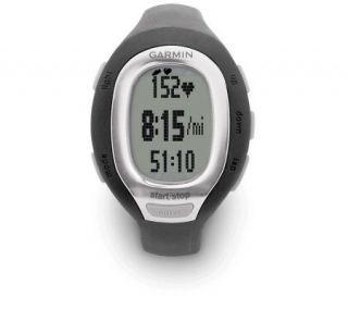 Garmin Forerunner60 Womens Black Fitness Watch —