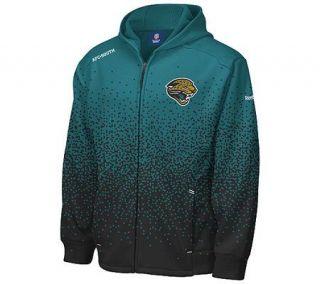NFL Jacksonville Jaguars Ascent Drift Full ZipHooded Fleece —