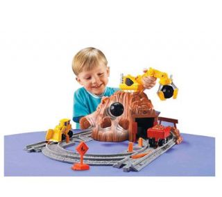Fisher Price GeoTrax Rail & Road System   Construction Site —