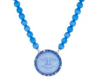 Kirks Folly Seaview Moon Magic Beaded Necklace —