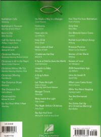 Christmas The Best of Contemporary Christian Music Song Book