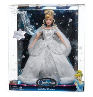 New Disney Christmas Holiday Princess Cinderella COLLECTIBLE DOLL