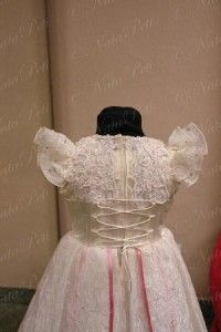 Flower Girl Pageant Party Holiday Dress 2181 Beige Size 4