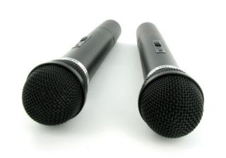 wireless microphone system with 2 wireless microphones must have for