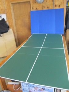 Trifold Portable Table Tennis Ping Pong Conversion Top