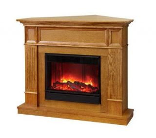 Camden Vent Free Electric Wall/Corner Fireplace —