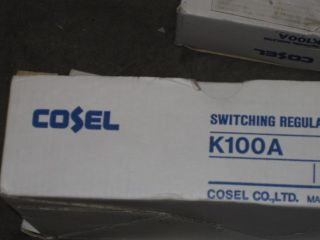 Cosel K100A Switching Power Supply NR