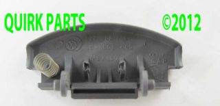 VW Volkswagen Console Lid Latch Lock Button Gray OEM Jetta Golf Passat