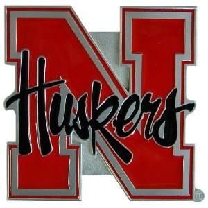 New Nebraska Cornhuskers Truck Trailer Hitch Cover