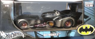1989 Anton Furst 1 18 Battle Damaged Batmobile G3665 Pittman Vaporwax