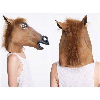 Creepy Horse Head Face Animal Costume Prop Mask Horse Head Mask