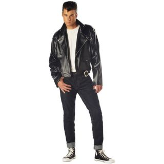 50s Grease T Birds Jacket Danny Fancy Dress Halloween Costume Outfit