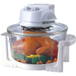 Glass Super Turbo Convection Oven Sunpentown 12 Liter Round Eletric
