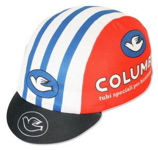 Pace Columbus Retro Road Fixed Cycling Bicycle Cap Hat Black New Fits