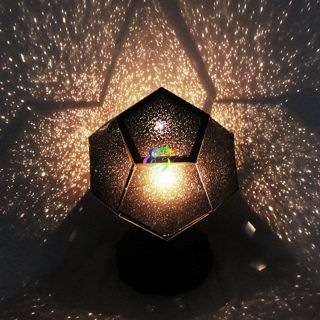 Star Laser Scientific Projector Cosmos Night Light Bulb Lamp