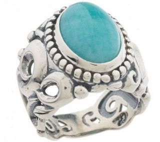 Carolyn Pollack Sterling Peruvian ite Ring —