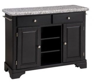 Home Styles Premium Create a Cart with Gray Granite Top —