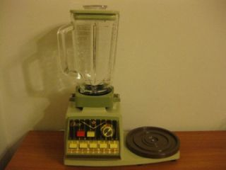 Vintage Oster Kitchen Center 10 Speed Mixer Blender Combo