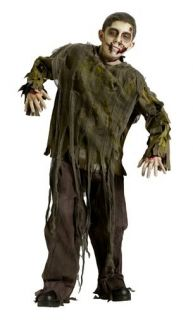Costume Undead Outfit Dead Monster Childs Creepy Scary M L Kids New