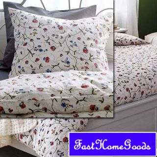New IKEA Alvine Duvet Comforter Quilt Cover Twin Floral
