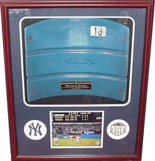 Mariano Rivera Signed Yankee Stadium Seat Back Steiner