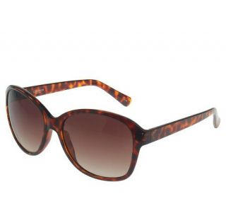 Liz Claiborne New York Rounded Cat Eye Sunglasses   A216554