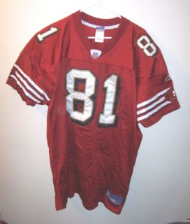Cool Red TERRELL OWENS SAN FRANCISCO 49ers Football Jersey Man 54
