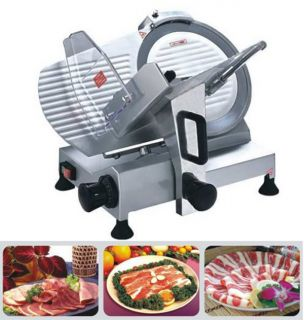 12mm thickness heavy duty electric meat slicer 250mm blade commercial