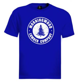 Morning Wood T Shirt Funny Rude Counselor Camp Summer Lumber Offensive