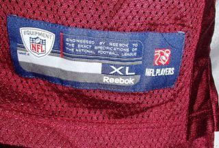 Chris Cooley Washington Redskins Reebok Football Jersey Mens Size XL