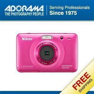 Nikon Coolpix S30 Digital Camera Pink Refurbished by Nikon U S A 26318