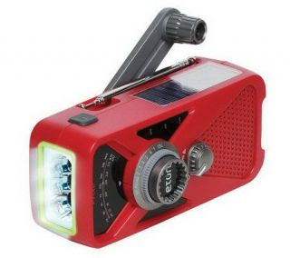 ETON Hand Crank AM/FM NOAA Radio w/USB Phone Charger —