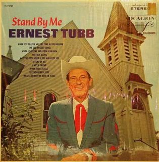 Stand by Me Ernest Tubb Country Gospel LP