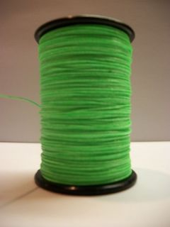 Flo Fluorescent Green BCY 3D Archery Bow String Serving