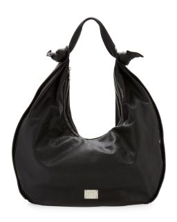 Handbags by Romeo Juliet Couture Polly Banana Hobo Black