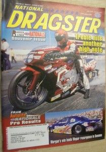 August 16 2002 National Dragster R C Williams 1996 Brainerd Jamie