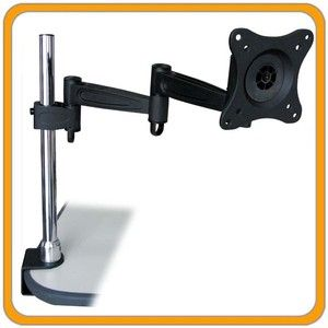 Swivel TILT Adjustable DESK MOUNT STAND FOR DELL LCD COMPUTER MONITOR
