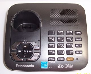 Panasonic KX TG6441 DECT 6 0 Cordless Phone Main Base