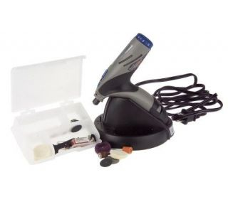 Dremel Stylus Cordless Rotary Tool Kit w/Multi Vise —